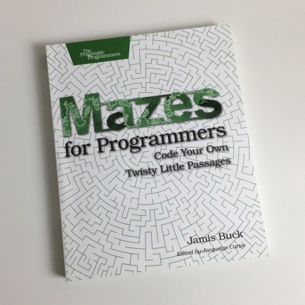 Mazes For Programmers Book
