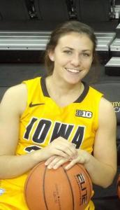Kathryn Reynolds Division 1 basketball player and Law School