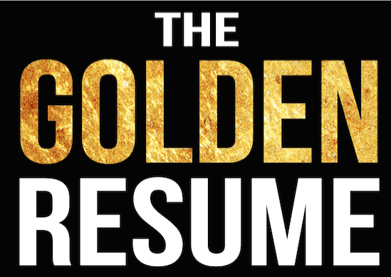 the golden resume helps job search