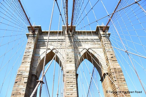 7 days in New York things to do in NYC Brooklyn Bridge takingtotheopenroad peggytee