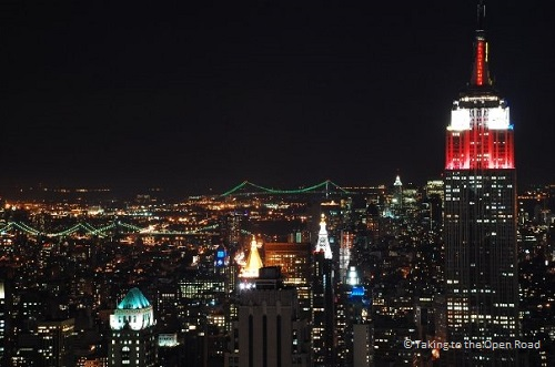 7 days in New York things to do in NYC skyline night takingtotheopenroad peggytee