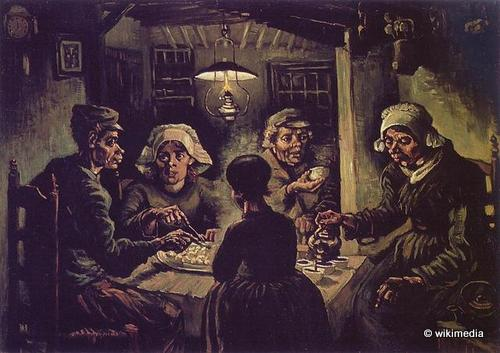 amsterdam top six Vincent_Van_Gogh_-_The_Potato_Eaters taking to the open road peggy tee wikimedia