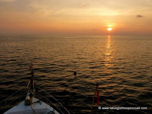 review wicked diving sunset mariner taking to the open road peggy tee
