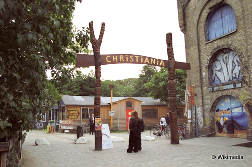 top 5 attractions in copenhagen Christiana taking to the open road peggy tee wikimedia