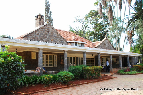 24 Hours in Nairobi karen blixen museum taking to the open road peggy tee