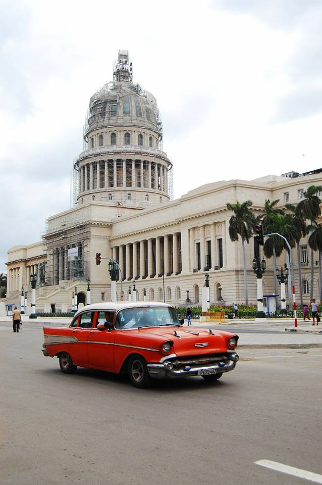 travel independently to cuba collectivo vintage car taking to the open road peggy tee