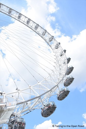 3 days in london on the cheap london eye takingtotheopenroad peggytee