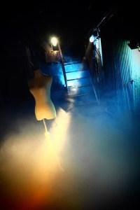 光画社スタジオのロースモーク撮影