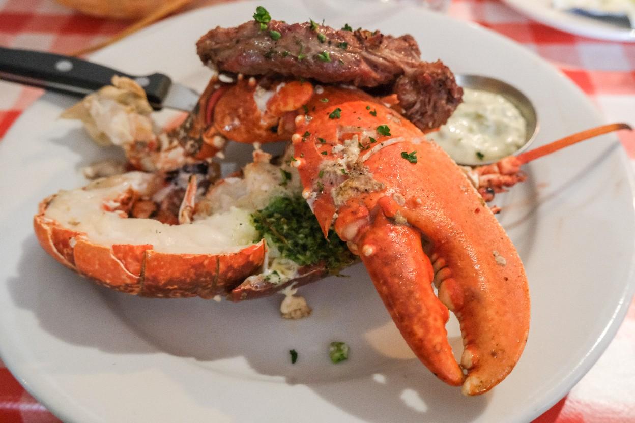 【おすすめレストラン紹介 】フランス料理レストラン「 Chez Jules」でロブスター & ステーキセット