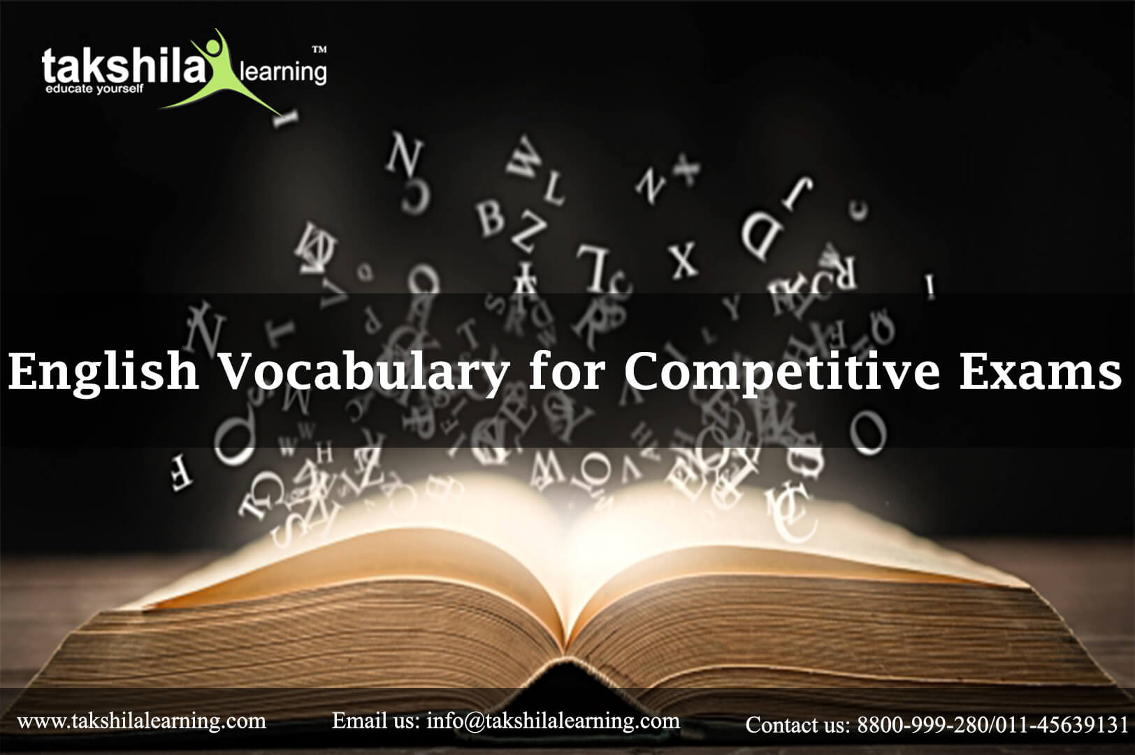 Online English Vocabulary for Competitive Exams Preparation