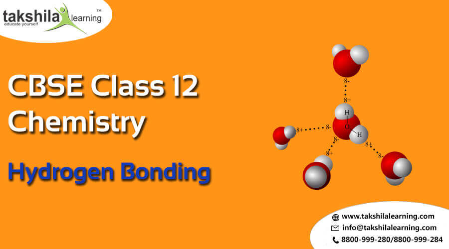 NCERT Solutions for Class 12 Chemistry Hydrogen Bonding Notes