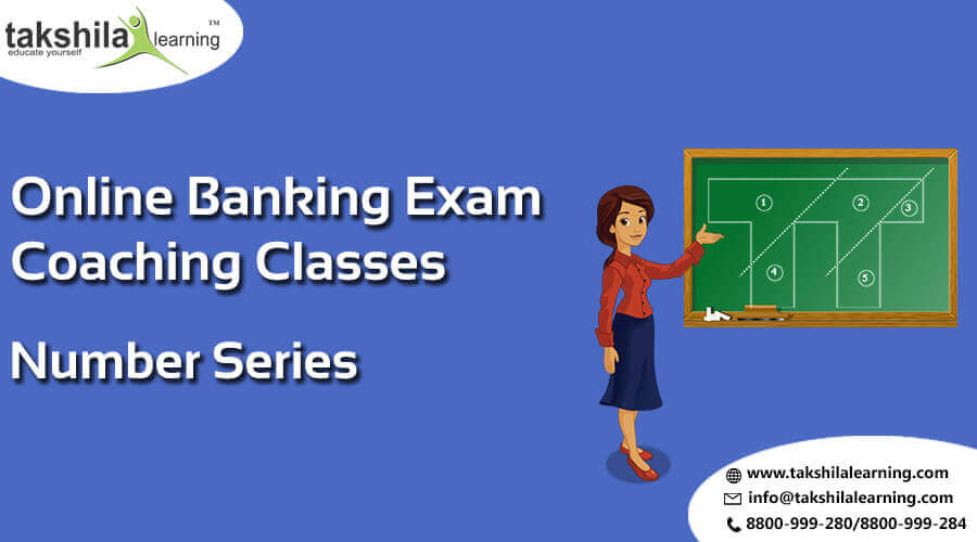 Number series questions and answers for Bank IBPS/SBI/RRB - PO/Clerk