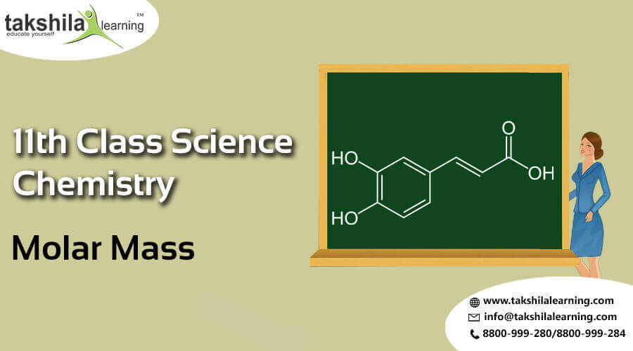 NCERT Solutions for class 11 science Molar Mass