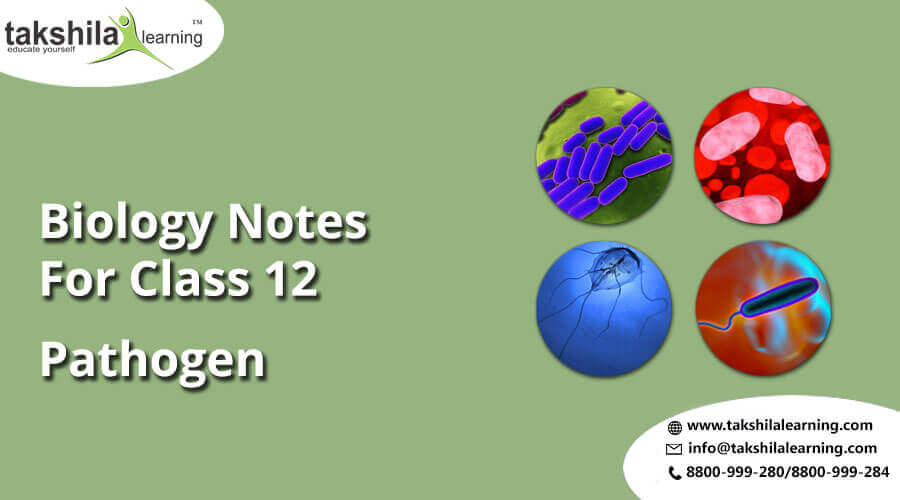 Pathogen Online Notes NCERT Solutions for Biology Class 12, online classes for 12th science