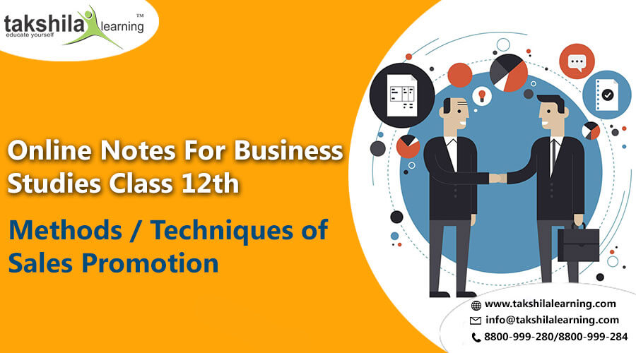 What is MethodsTechniques of Sales Promotion Class 12 Business studies,12th commerce