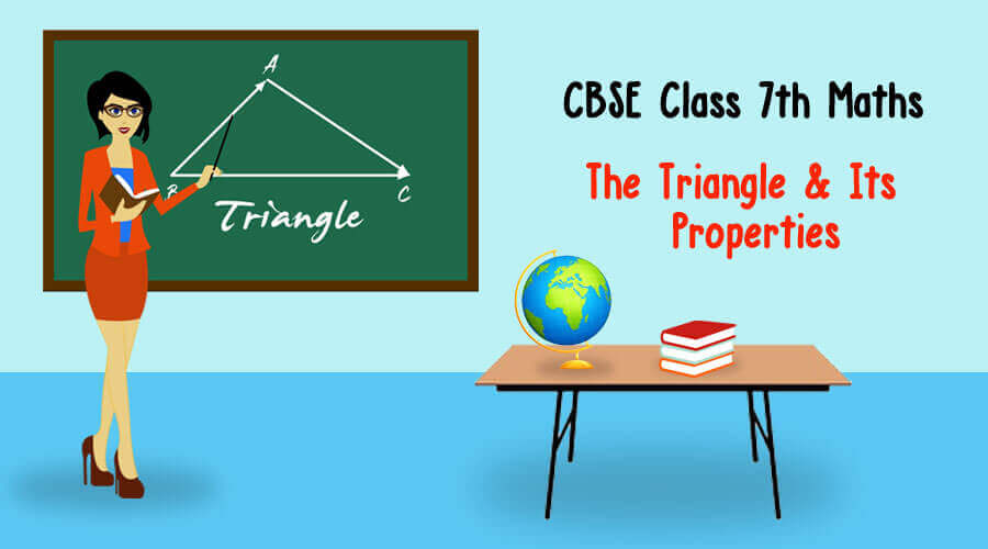 The Triangle and its properties-NCERT Solutions Class 7 Maths, Maths NCERT solutions Class 7
