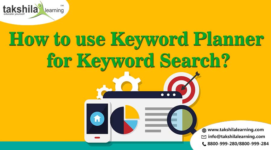 How to use keywords planner for keyword search - SEO, online Digital Marketing Course