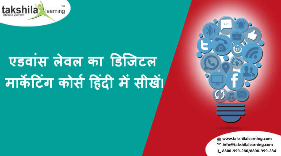 Offline And Online Advanced Digital Marketing Course in Hindi