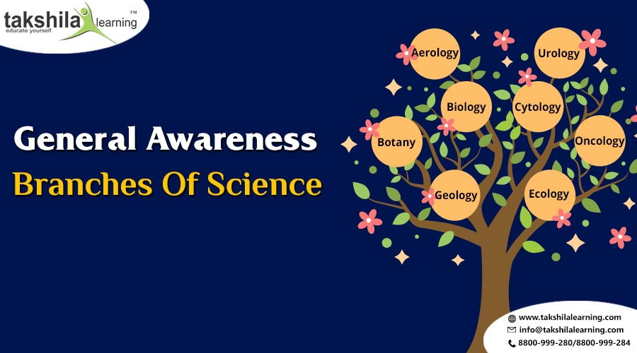 Important Branches of Science | General Awareness Questions and Answers 2018
