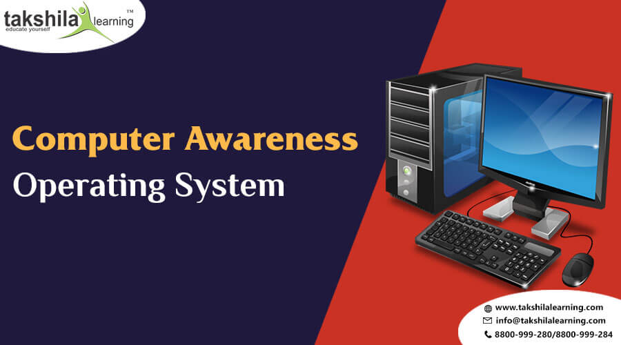 Types Of Operating System (Computer) for IBPS/SBI Exams 2018-19