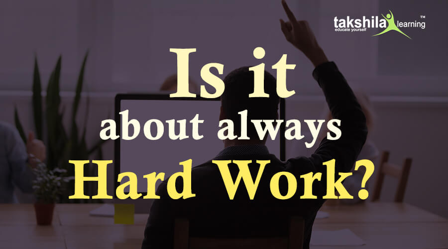 The main steps to be taken to become the Winner,hard work