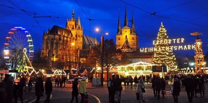 Weihnachtsmarkt Erfurt.Weihnachtsmärkte In Erfurt Alle 20 Im überblick T Akt Magazin