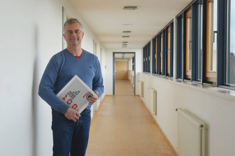 """Wir haben mit Patrick Rössler über sein neues Buch """"Neue Typografien: Bauhaus und mehr. 100 Jahre funktionales Grafikdesign in Deutschland"""" gesprochen. Foto: Minetta"""