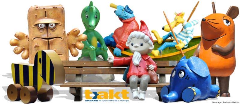 Die Kika-Figuren aus Erfurt