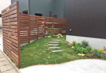木製フェンス(ウリン)