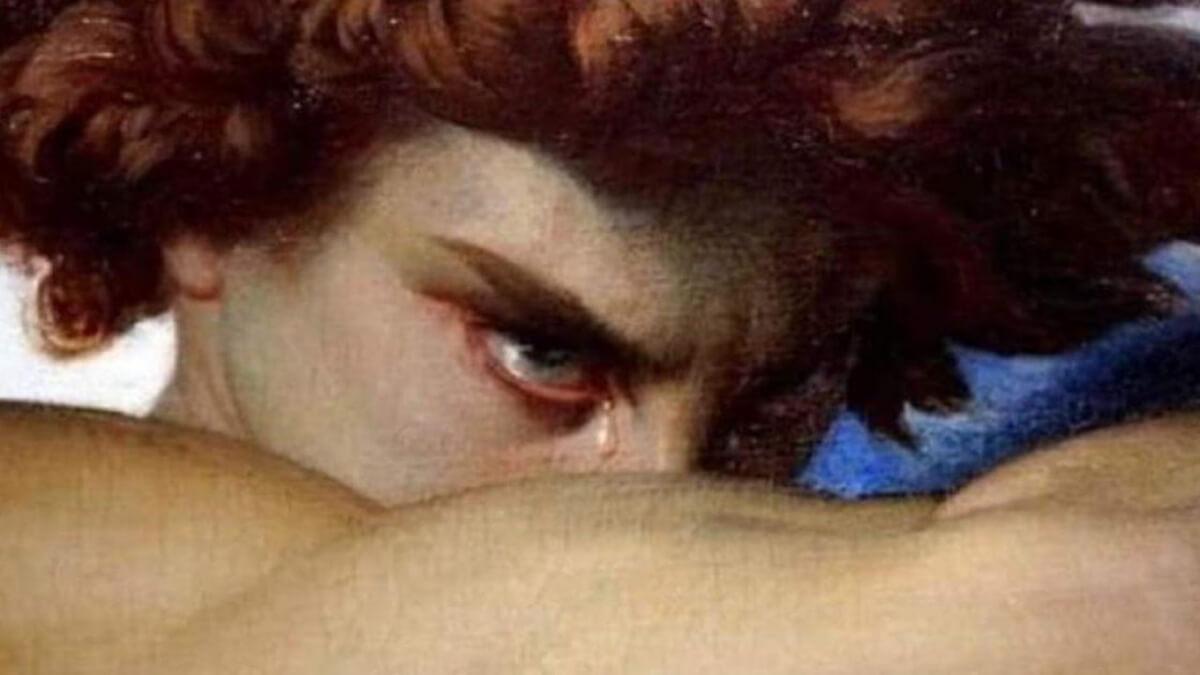 TAKUMI lifestyle - Il bonsai tra arte ed estetica - The Fallen Angel (Alexandre Cabanel) - particolare