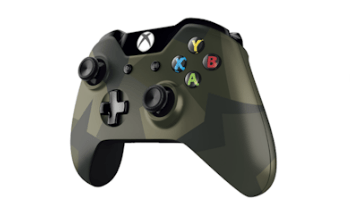 Xbox One Special Edition Armed Forces Wireless Controller and Stereo Headset
