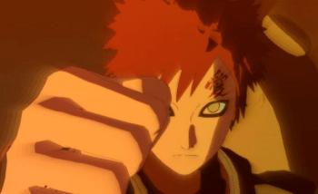 Gaara présent dans Naruto Shippuden : Ultimate Ninja Storm Revolution