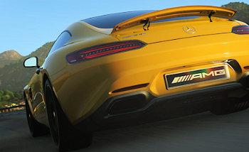 DriveClub AMG GT Mercedes