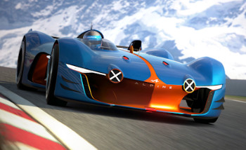 Gran Turismo 6 : l'Alpine Vision Gran Turismo aussi disponible