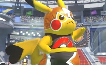 Pokkén Tournament : Masked Pikachu se dévoile en vidéo