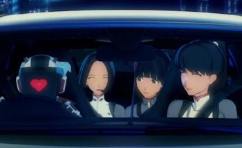 Une nouvelle pub japonaise pour la Mercedes Classe A