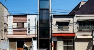 Japon : Une maison qui fait moins de 2 mètre de large