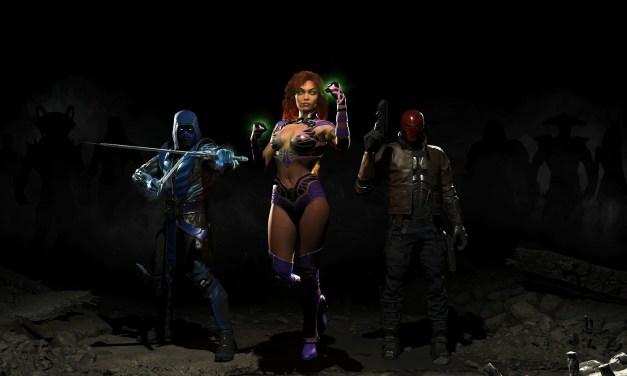 Injustice 2 : Red Hood, Starfire et Sub-Zero annoncés pour le premier DLC