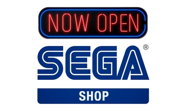 La boutique en ligne officielle européenne de Sega est ouverte