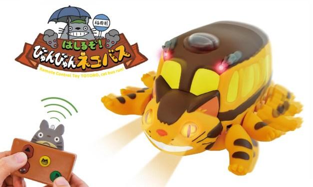 Le Chat Bus de Mon voisin Totoro en jouet télécommandé !