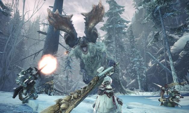 Gamescom 2019: Un nouveau trailer pour Monster Hunter World: Iceborne