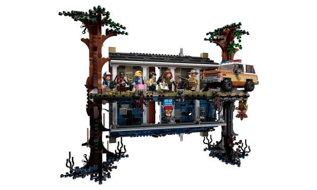 Stranger Things: Lego présente La maison dans le monde à l'envers