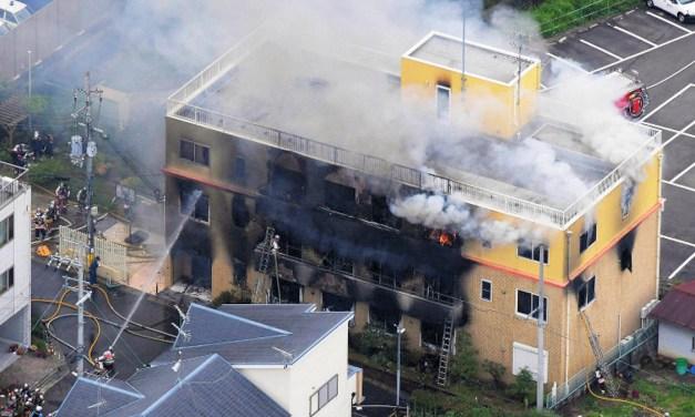 Un incendie criminel fait plusieurs morts dans un studio d'animation de la préfecture de Kyoto