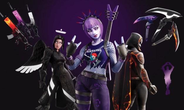 Le Pack Feu Obscur est désormais disponible dans Fortnite