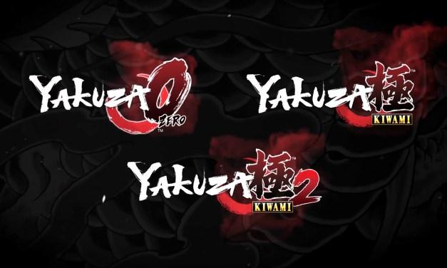 La franchise Yakuza débarque en 2020 sur Xbox One