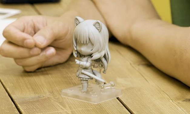 Découvrez comment sont faites les figurines Nendoroid