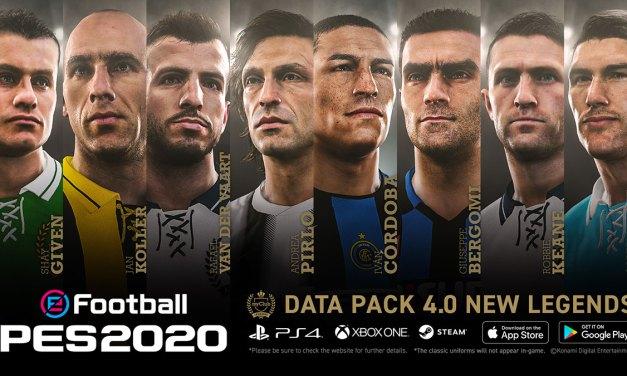 eFootball PES 2020 : Le Data Pack 4.0 est disponible