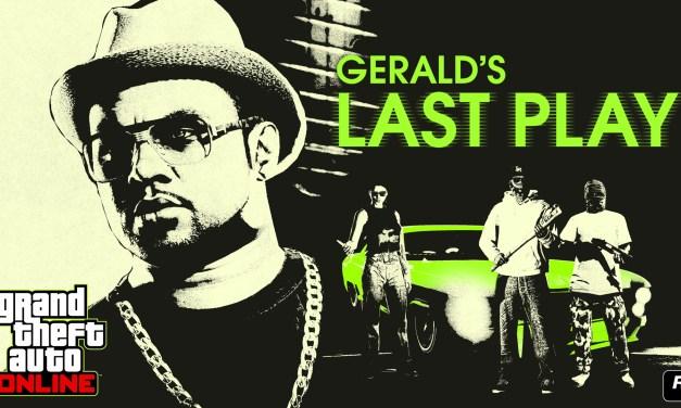 GTA Online: Gerald a une nouvelle fois besoin de vous