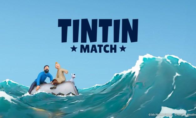 Tintin Match est disponible sur smartphones Android et iOS