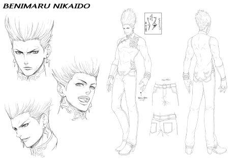 The-King-Of-Fighters-XV-BENIMARU-NIKAIDO
